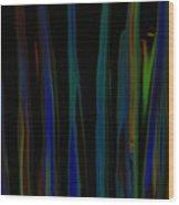 Colorful Smudge Wood Print