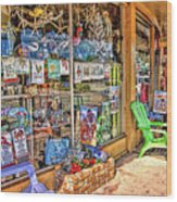 Colorful Streets Of The City Of Stuart Wood Print