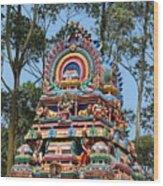 Colorful Temple, Valparai Wood Print