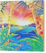 Colorful Tropics 12 Wood Print