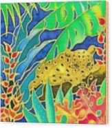 Colorful Tropics 4 Wood Print