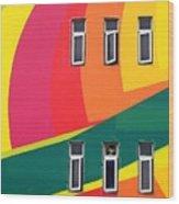 Colorful Wall Wood Print
