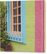 Colorful Walls Wood Print by Jeremy Woodhouse