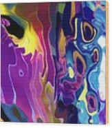 Colorinsky Wood Print