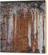 Colors Below A Gold Mine Wood Print