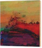 Colors In Aquarell Wood Print