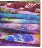 Colors Material Horizontal Pa 02 Wood Print