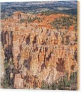 Colors Of Bryce Wood Print