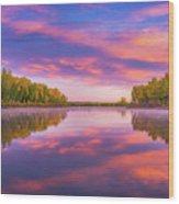 Colors Of Chatfield Wood Print