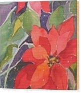 Colors Of Christmas Wood Print