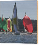 Colors Of Coupeville Wood Print