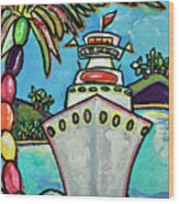 Colors Of Cruising Wood Print