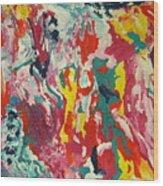 Colors Of Life Wood Print