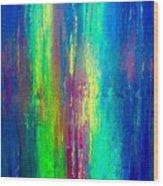 Colors Of My Mind Wood Print