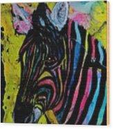 Colors Of Peace Wood Print