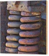 Colors Of Rust Wood Print