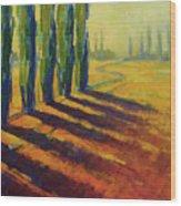 Colors Of Summer 4 Wood Print