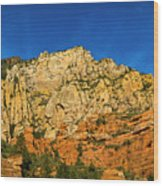 Colors Of The Southwest Wood Print