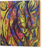 Colors Of The Wind 1 Wood Print
