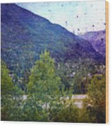 Colors Of Vail Wood Print