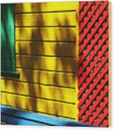 Colors Wood Print