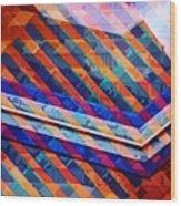 Colors Play Wood Print