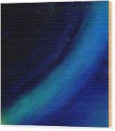 Colors Blue Point Of Origin 7/1/2015 Wood Print