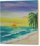 Colorset Wood Print