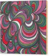 Colorway 5 Wood Print