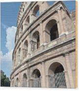 Colosseo Iv Wood Print