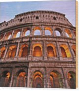 Colosseum - Coliseu Wood Print