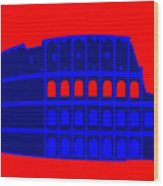Colosseum Wood Print