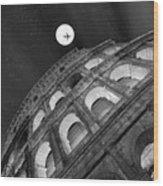 Colosseum Panorama Wood Print
