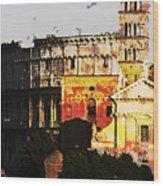 Colosseum Rome Wood Print