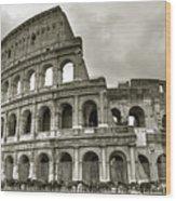 Colosseum  Rome Wood Print by Joana Kruse
