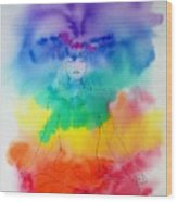 Colour Meditation Wood Print