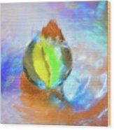 Colour Splash Wood Print