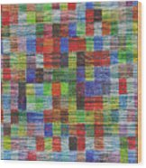 Colour Square 2 Wood Print