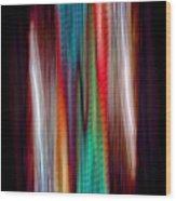 Colour Stream Wood Print