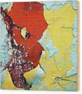 Colour Wars Wood Print