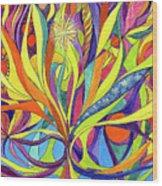 Colourful 2009 Wood Print