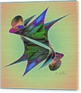 Colours 4 Wood Print