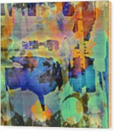 Colours Wood Print