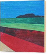Colours Of Spain Wood Print