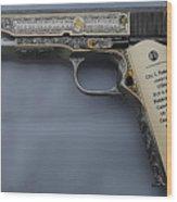 Colt 1911 Wood Print