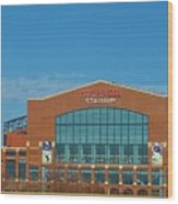 Colts Stadium Wood Print