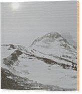 Columbia Icefields Wood Print