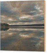Columbia Lake Wood Print