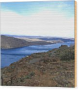 Columbia River 2 Wood Print