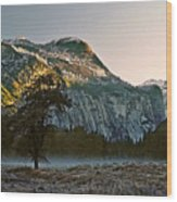 Columbia Rock Wood Print
